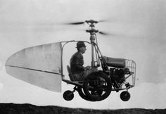 """Jesse Dixon's Flying Automobile. 1945 