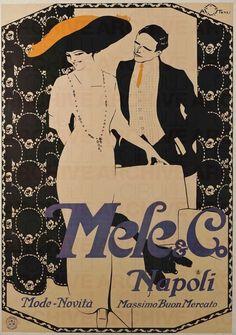 Aleardo Terzi Mele & C. Napoli. Mode e Novità. Massimo buon mercato, 1909