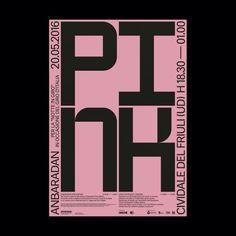 whokillsgraphicdesign:  anbaradan pink ddition per la notte in...