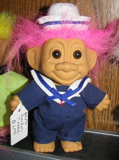 I sure wish I knew where all my trolls went that I collected as a child.
