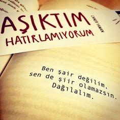 Ben şair değilim, sen de şiir olamazsın. Dağılalım. - Caner Yaman / Aşıktım Hatırlamıyorum #sözler #anlamlısözler #güzelsözler #manalısözler #özlüsözler #alıntı #alıntılar #alıntıdır #alıntısözler #şiir #edebiyat #kitap #kitapsözleri #kitapalıntıları