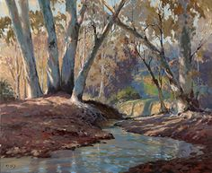 Seasonal Reflections - Oil- John Cosby
