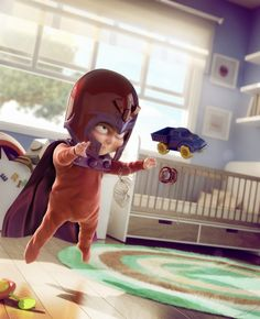 Just watched X-Men: First Class - this is a much more adorable childhood for Magneto :P