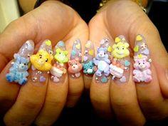 SWEETBABYTEE: Care-Bear Nails