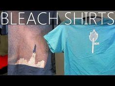 Dieser Typ besprüht sein T-Shirt mit Absicht mit Bleichmittel für ein unfassbares Ergebnis.