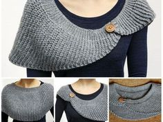 Knit-Look Half Moon Crochet Shawl Crochet pattern by Oksik Knit-Look Half Moon Crochet Shawl Crochet pattern by Oksik,Knitting/Stricken This pattern is available in English and German. For German version please scroll down.With this pattern. Shawl Crochet, Crochet Shawls And Wraps, Crochet Scarves, Crochet Clothes, Crochet Hooks, Knit Crochet, Free Crochet, Crochet Dresses, Beau Crochet
