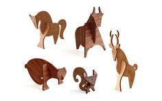moderne wood animals ++ uusi
