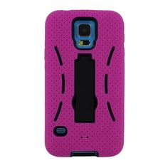 Armor Skin Hard Case Hybrid Shockproof Rugged Cover Stand For Samsung Galaxy S5 #Unbranded