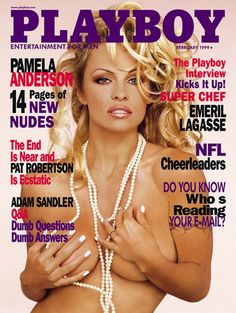 Playboy magazine cover February 1999