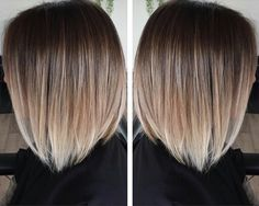 Are you going to balayage hair for the first time and know nothing about this technique? We've gathered everything you need to know about balayage, check! Hair Color And Cut, Ombre Hair Color, Blonde Color, Grey Ombre, Short Hair Colors, Hair Colours, Bob Hair Colour Ideas, Winter Hair Color Short, Bob Hair Color