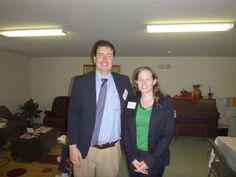#Attorney Evan Guthrie with Virginia Spencer, Charleston School of Law Class of 2014 at the Center For Heirs Property Preservation Center Wills Clinic at the Awendaw Senior Center in Awendaw, SC on Saturday November 16th, 2013. Lawyers and law students providing free wills to Charleston, SC area senior citizens.