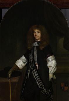 Gerard ter Borch - Jacob de Graeff (1642-90), in officiersuniform