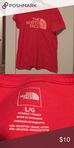 North Face tshirt Worn once, in like-new condition. North Face Tops Tees - Short Sleeve