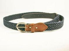 "Rare Men/'s Black Casual Dress Leather Belt /""G Logo/"" Fashion Buckle 1 1//2/"" Wide"