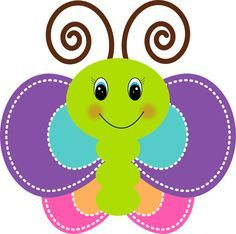 Funny Butterfly: Free Printable Images, Backgrounds and Party Printables.- Funny Butterfly: Free Printable Images, Backgrounds and Party Printables. Funny Butterfly: Free Printable Images, Backgrounds and… - Diy And Crafts, Crafts For Kids, Paper Crafts, Cute Clipart, Applique Patterns, Party Printables, Easter Printables, Paper Piecing, Baby Quilts