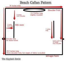 Beach Caftan Pattern -The Slapdash Sewist