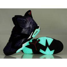 2606f648fc84 Air Jordan 6 Glow in The Dark Black White
