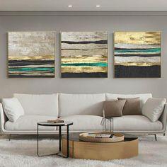 3 Piece Canvas Art, Diy Canvas Art, Acrylic Painting Canvas, 3 Piece Wall Art, Gold Canvas, Peacock Wall Art, Cactus Wall Art, Grand Art Mural, Images Murales