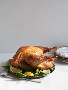 Citrus Dry-Brined Turkey from @acozykitchen