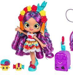 Shopkins Season 8 World Vacation (Americas) Shoppies Doll - Rosa Piñata Shoppies Dolls, Shopkins And Shoppies, Shopkins Season 8, Shopkins Characters, Monster High Custom, Beanie Boos, Doll Stands, Lol Dolls, Monster High Dolls