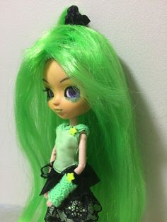 Pullip post: Diva, the cyberpunk alien By Mes Crazy Experiences