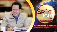 Watch another episode of Pastor Apollo C. Quiboloy's newest program, SPOTLIGHT. For your messages and queries, you can comment it down below so our Beloved P. Kingdom Of Heaven, Heaven On Earth, Spiritual Enlightenment, Spirituality, T Lights, New Program, Son Of God, Phone Wallpapers, Spotlight