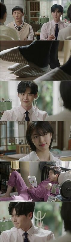 """[Spoiler] """"While You Were Sleeping - 2017"""" Lee Jong-suk forced to tell all to Suzy"""