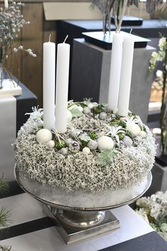de Bite note, our offer is aimed exclusively at traders Source by heinrichvosteen The post Vosteen.de Bite note, our offer is exclusively & appeared first on The most beatiful home designs. All Things Christmas, White Christmas, Christmas Holidays, Christmas Advent Wreath, Christmas Crafts, Deco Table, Xmas Decorations, Flower Arrangements, Candles