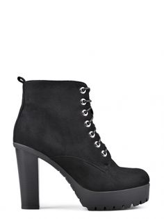 Botine de damă TENDENZ - negru Ankle Boots, Booty, Heels, Fashion, Ankle Booties, Heel, Moda, Swag, Fashion Styles