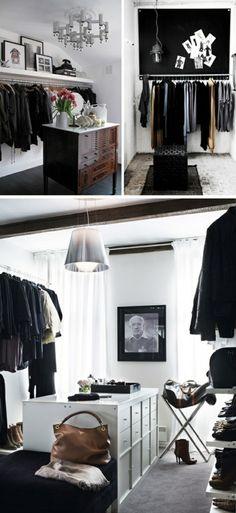 kleiderschrank on pinterest closet dream closets and. Black Bedroom Furniture Sets. Home Design Ideas