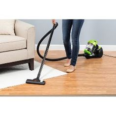 BISSELL Zing Bagless Canister Vacuum - 2156A : Target Canister Vacuum, Vacuum Bags, Hard Floor, How To Clean Carpet, Canisters, Home Appliances, Flooring, Target, Furniture