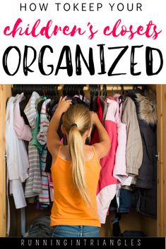 Use these tips for organizing your children's closets, from the infant's nursery to the teen's wardrobe and avoid constant clutter and chaos. Kids Wardrobe Storage, Kids Clothes Storage, Closet Organizer With Drawers, Closet Organization, Organization Ideas, Organizing Tips, Kitchen Organization, Kitchen Storage, Cubbies