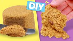 DIY KINETIC SAND! So Easy - Sensory Toy for Kids and Satisfying Stress R...