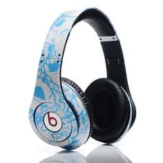 dcb2c8d0427 Dr Dre Beats Studio Graffiti Headphones Blue clearance. Buy Beats By Dre  Cheap Sale at
