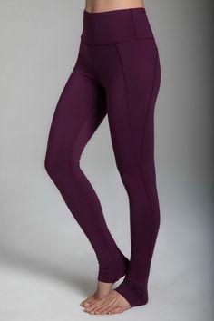 dc228131795 Ultra High Waist Yoga Legging (Moulin Rouge). High Waisted Yoga LeggingsLace  UpDeep PurpleCollectionYoga Pants