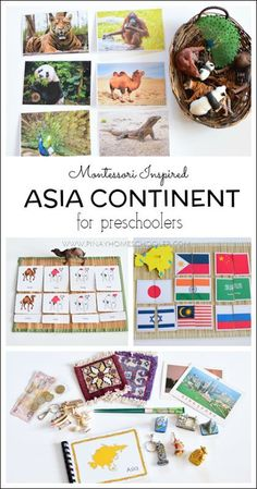 Learning about Asia, the materials and resources for preschoolers