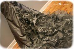 Grey Wedding Dress with Crystal Beaded Belt - Silvea Gown - Avail & Company, LLC