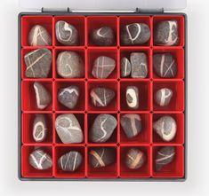 Steine im Sortimentkasten