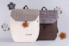 J-Back è lo zaino ispirato ai viaggi on the road, realizzato in tessuto, è componibile e personalizzabile.
