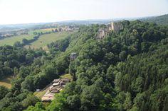 Vue aérienne de Châlucet