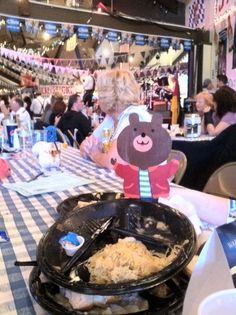 Barney Bear at Oktoberfest in Big Bear, California!