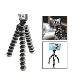 [USD0.87] [EUR0.81] [GBP0.62] Flexible Grip Camera Tripod  for Mini Digital Camera