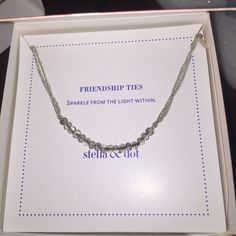 Stella & Dot adjustable grey bracelet Adorable Stella & Dot bracelet, adjustable to a variety of sizes and goes great with anything! Only worn once or twice. Comes with box! Make an offer! Stella & Dot Jewelry Bracelets