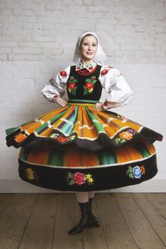 Polish Folk Costumes / Polskie stroje ludowe — A few examples of Polish regional dresses :) ...