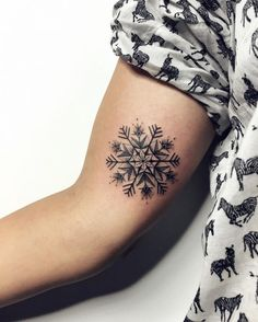 snowflake tattoo3