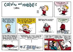Calvin And Hobbes Quotes. QuotesGram
