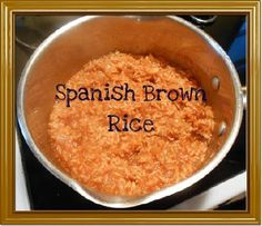 Spanish Brown Rice Recipe - Delicious, Wholegrain and Healthy