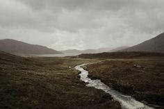The Scottish Highlands have that kind of wild, rugged drama to them that I love.  Something about the scrubbiness of heather always calls to me. Highlands, byAkos Major