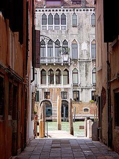 Calle del Dose da Ponte Venise
