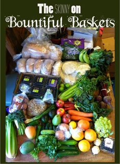 Bountiful Baskets is a volunteer-driven food co-op that provides quality fruits and vegetables at a lower cost that what you can find in your supermarket!